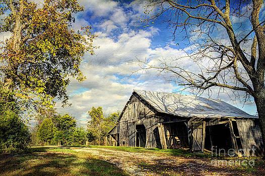 Country Barn by Joan McCool