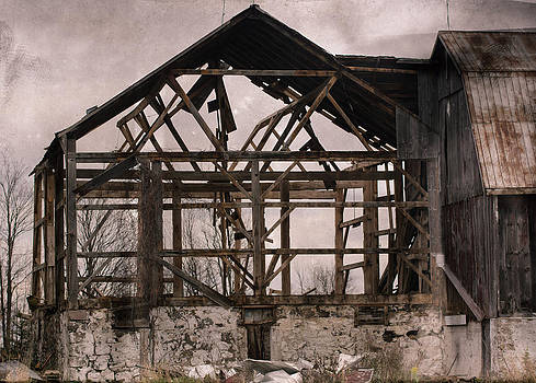 Country Barn Ruin by James Canning