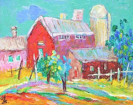 Country barn by Siang Hua Wang