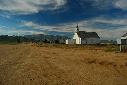 Country Church by Mamie Gunning