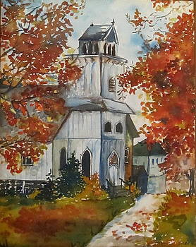 Country Church by Monica Ironside