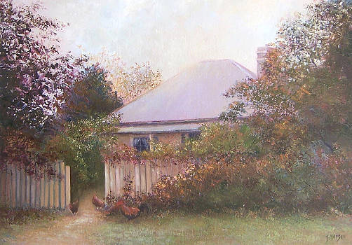 Jan Matson - Country Cottage Autumn