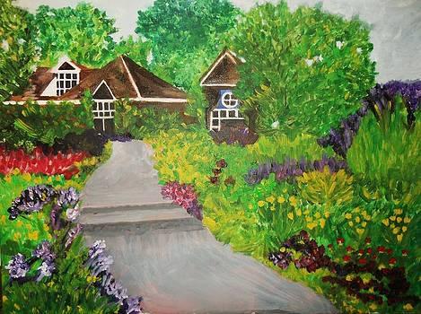 Country Cottage by Deborah Gorga