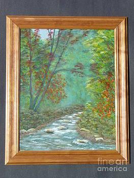 Country Creek-Original by Jody Curran