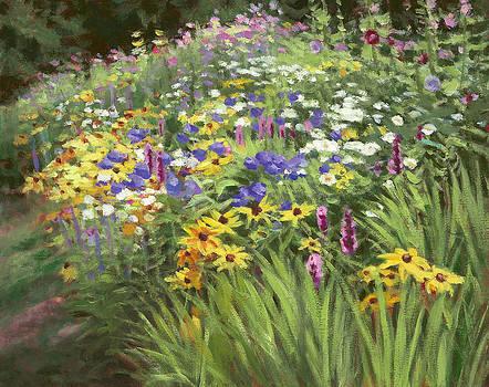 Country Garden by Lynne Adams