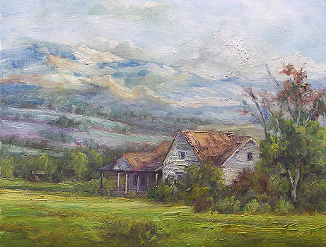 Country Home at Coalville by Lynn T Bright
