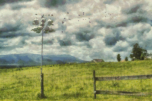 Country Landscape by Kathy Jennings