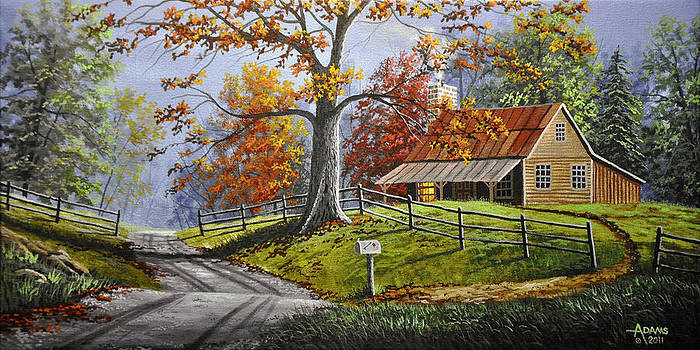 Country Life Large by Gary Adams