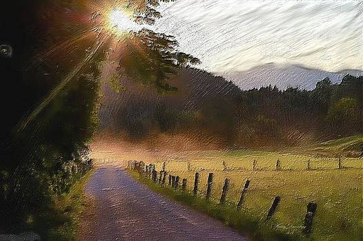 Country Road by Harry Dusenberg