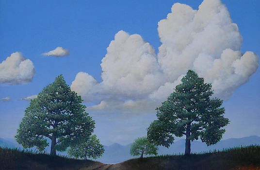 Country Road by Kenneth Stockton