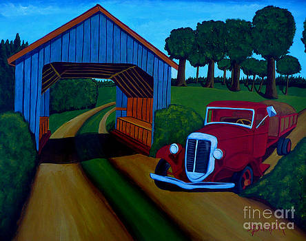 Country Roads by Anthony Dunphy