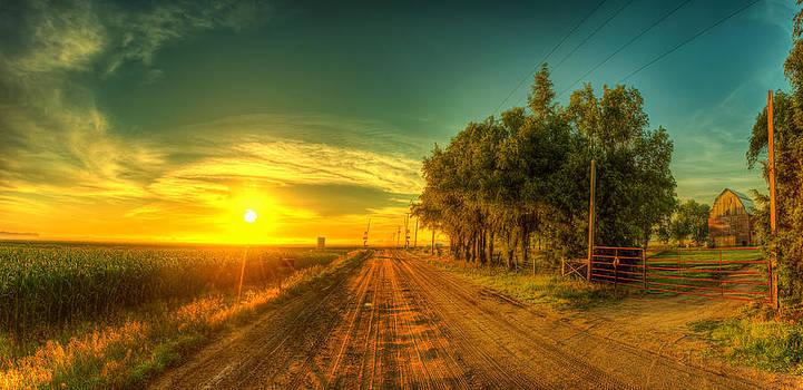 Country sunrise by  Caleb McGinn