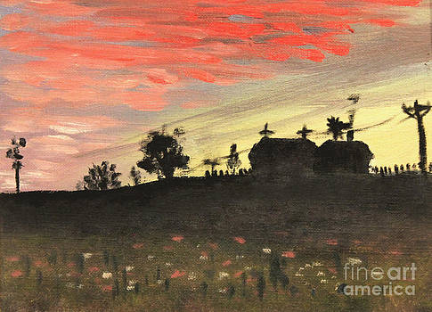Art By Tolpo Collection - Country Sunset