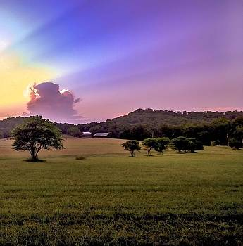 Country Sunset by Larry Bodinson