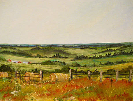 Countryside in Summer by Dorothy Maier