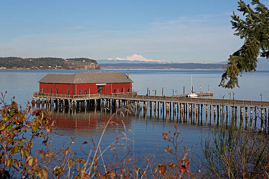 Coupeville jetty by Gordon  Grimwade