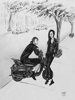 Couple in Alexander Wang x HM by Sabina Mollot