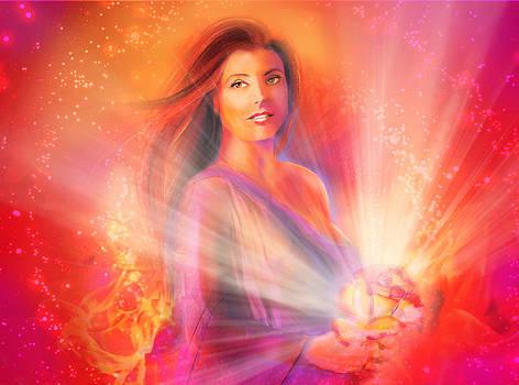 Courage Goddess by Lucinda Rae