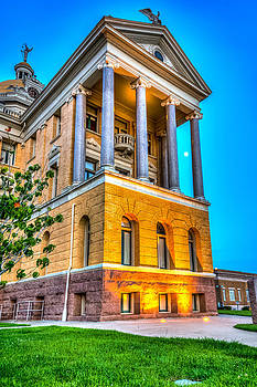 Courthouse Evening Light by Geoff Mckay