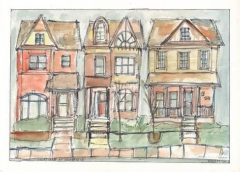 Courtyard at Crossfield by David Dossett