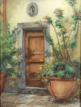 Courtyard by Sharon Weaver