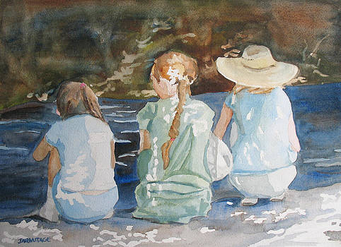 Jenny Armitage - Cousins at the Brook