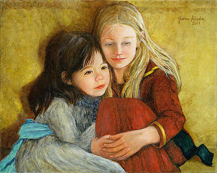 Cousins by Gudrun Hirsche
