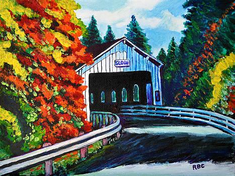 Covered Bridge by Bob Crawford