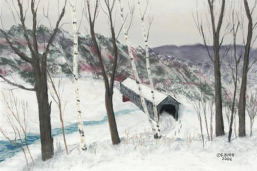 Covered Bridge by George Burr