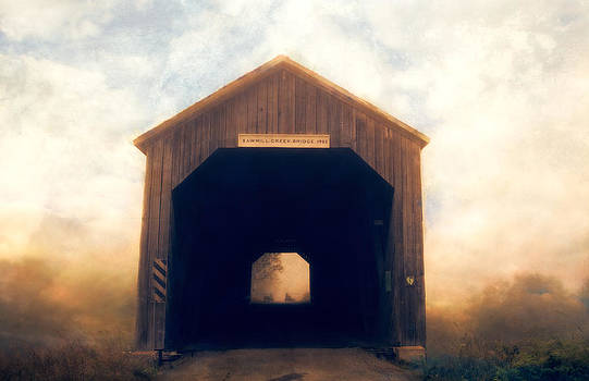 Covered Bridge by Tracy Munson