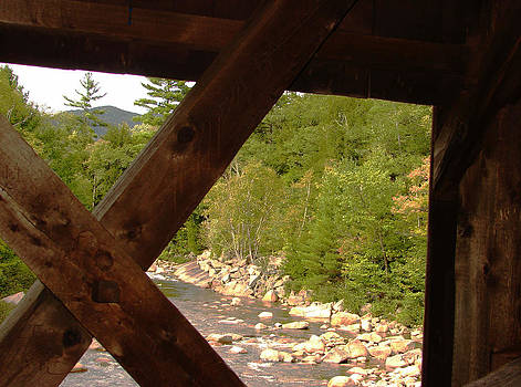 Covered Bridge View by Ella Char