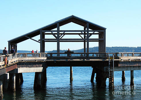 Connie Fox - Covered Pier at Port Townsend