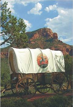 Covered Wagon by Richard Booker