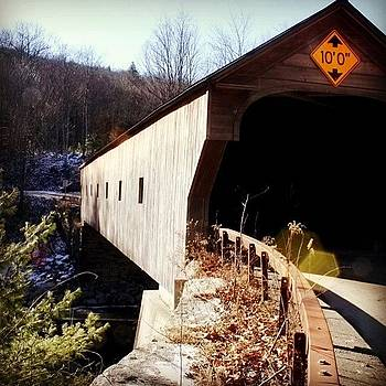 #coveredbridge #bridge #vt #vermont by Essy Dias