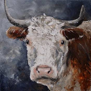 Cow 1 by Liesbeth Verboven