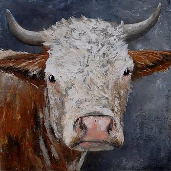Cow 2 by Liesbeth Verboven