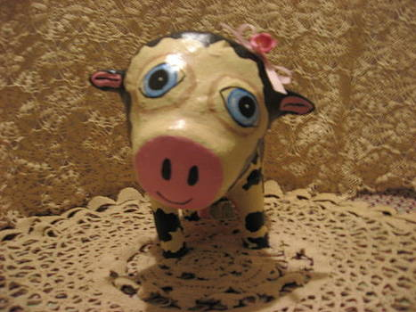 Cow named Mildred  Made to Order by Sandra Oropeza