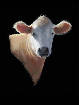 Joyce Geleynse - Cow on Black