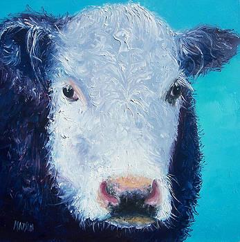 Jan Matson - Cow painting