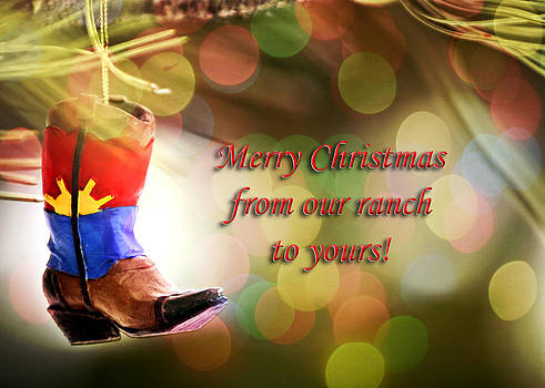 Cowboy Boot Christmas by Lincoln Rogers