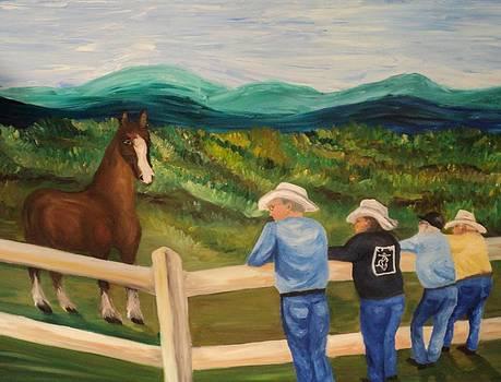 Cowboy Butts by Joe  Bishop