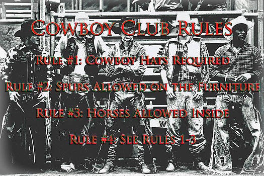 Cowboy Club Rules by Lincoln Rogers