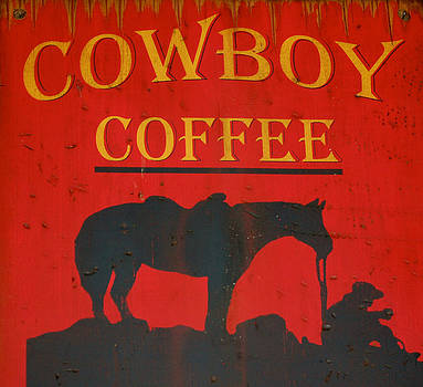 Sherlyn Morefield Gregg - Cowboy Coffee Sign