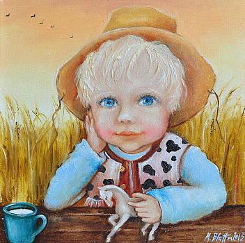 Cowboy by Monica Blatton