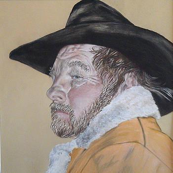 Cowboy Pastel by Ann Marie Chaffin