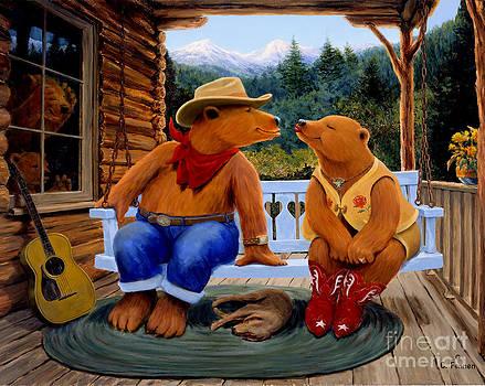 Cowboy Romance by Charles Fennen