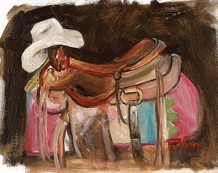 Cowboy Saddle by Ron Wilson