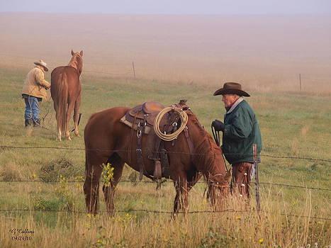 Cowboy Sunrise by Gordon Collins