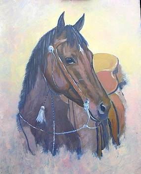 Cowboy Up by Darrell Flint