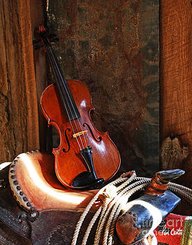 Cowboy Violin by Pam Carter